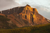 Image of Storm Mountain at sunset