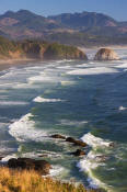 Image of Crescent Beach from Ecola State Park, Oregon Coast