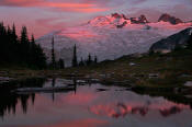 Image of Mount Challenger Reflection, Tapto Lakes, Pickets, North Cascades