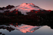 Image of Mount Baker Evening Reflection, North Cascades