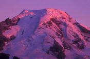 Image of Evening Light on Mount Baker, North Cascades