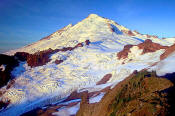 Image of Mount Baker from Ptarmigan Ridge, North Cascades