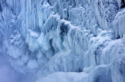 Image of Icicles at Snoqualmie Falls