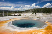 Image of Crested Pool in Yellowstone National Park.