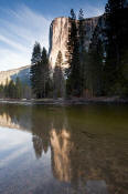 Image of El Capitan Reflected in Merced River